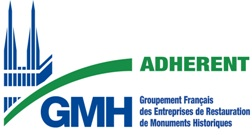Adhérent Groupement français des entreprises de restauration des monuments historiques